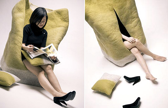 Hide Office Chair by Margaret Huang & Lin Yi-Hsien, 2008