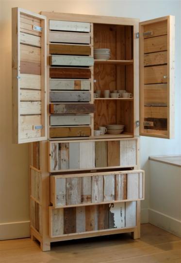 Scrapwood High Cupboard