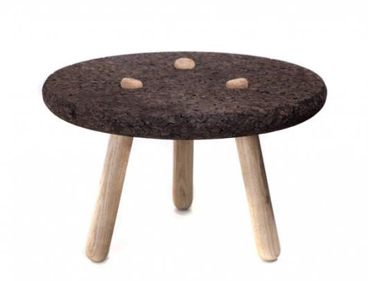 Rolha occasional table by Gonçalo Campos