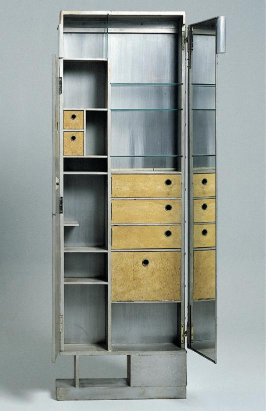 Dressing table/screen, 1926-1929 by Eileen Gray