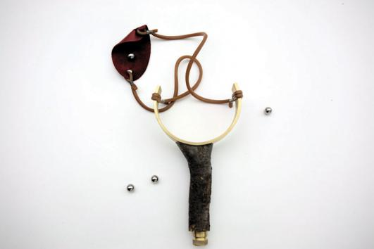 Slingshot by Karim Chaya, courtesy of Carwan Gallery