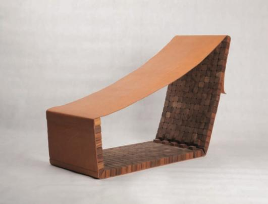 'Lounge Chair (Limited Edition of 10 +2P)' by Marc Baroud [ CARWAN GALLERY BEIRUT / LEBANON ]