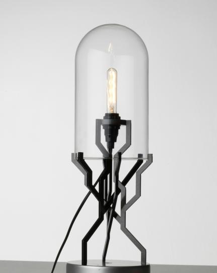 Kranen/Gille 'Industrial Growth' Lamp , 2009 image courtesy of Gallery FUMI