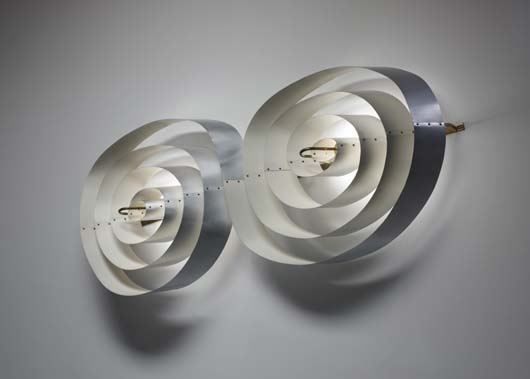 Poul Henningsen, Wall light, 1955, Estimated at $70,000-80,000, Sold for $212,500