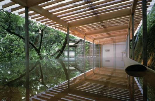 Kengo Kuma's Kogohi Bathhouse
