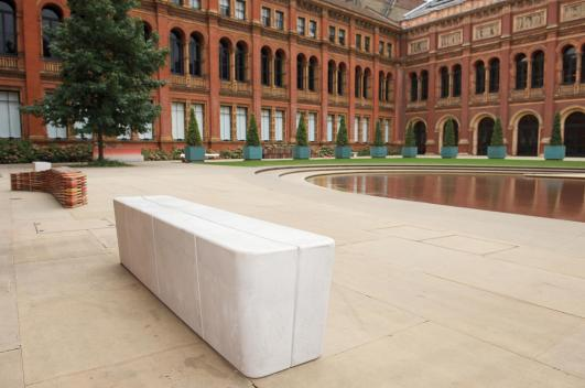 JASPER MORRISON Unique 'Hitch' bench, for 'Bench Years', commissioned by the London Design Festival, 2012 [Estimate £5,000 - 7,000]