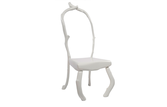 Slow White chair by Bo Reudler 2009 - photo Ilco Kemmere