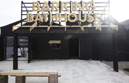 Barking Bathhouse by Something & Son