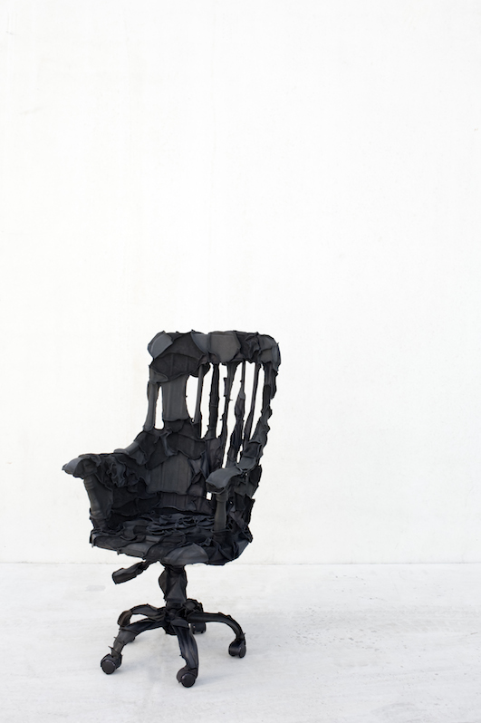 Office Chair (XXL Black), 2012 by Pepe Heykoop; photo © Annemarijne Bax