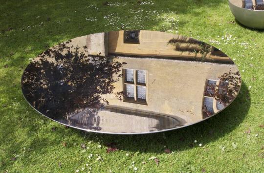 Arik Levy Moon Table - Installation image, Artists' Playground, 2008 - Photography ©Duncan Ward 2008
