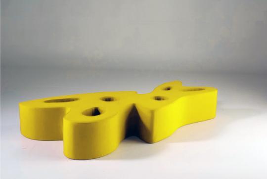 Aki Kuroda Dormeuse Yellow