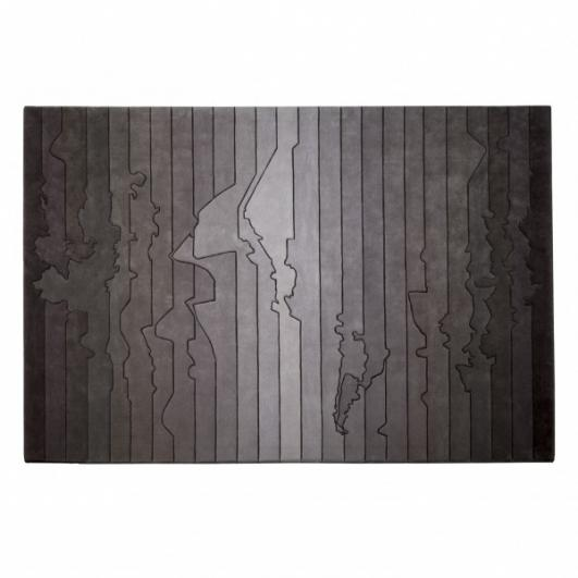 'Urban Fabric Time Zone Rug' by four o nine