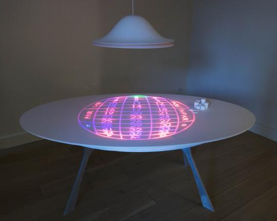 Roulette Table by Moritz Waldemeyer - Rabih Hage Gallery