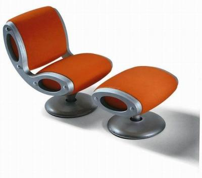 GLUON Swivel armchair