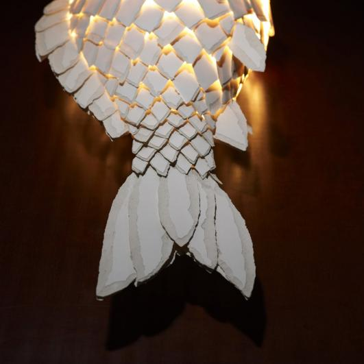 "Frank Gehry's ""Fish Lamps"""