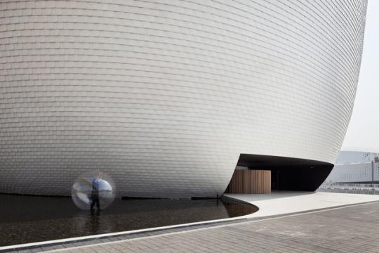 'Kimu', Finland's Shanghai expo pavilion designed by JKMM