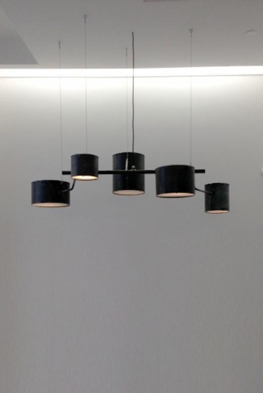 ATELIER VAN LIESHOUT | HANGING ATOMIC LAMP