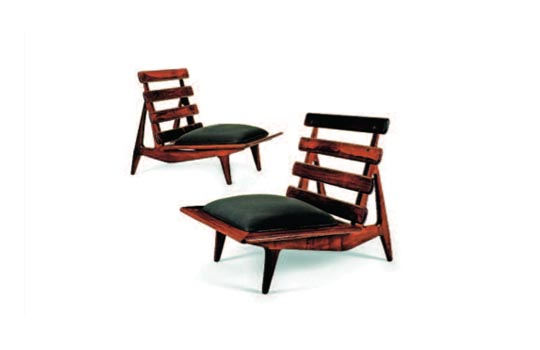 Pair of Easy Chairs by Sergio Rodrigues Circa 1964