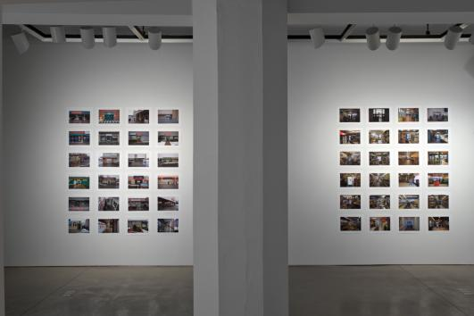 'Lebbensmittel or Syracuse In and Out' by Benjamin Faga at The Warehouse Gallery [photo: David Broda]