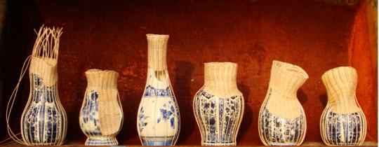 CenterPIECE vases by Daniel Hulsbergen