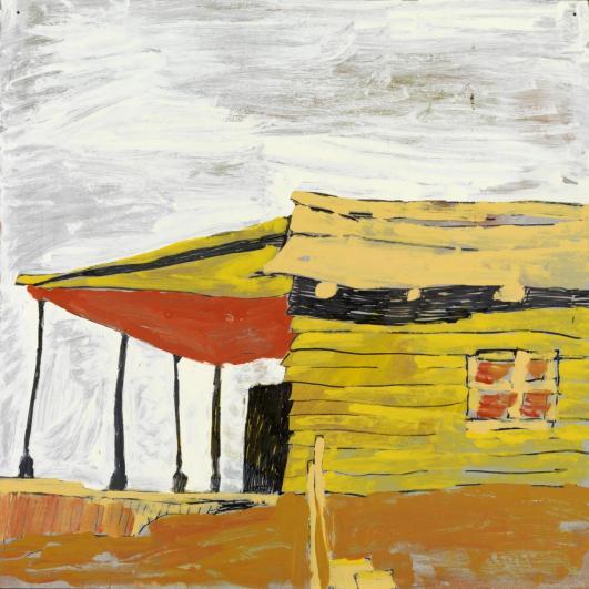 Per Kirkeby: Ohne Titel, 1965, Louisiana Museum of Modern Art, Humlebæk