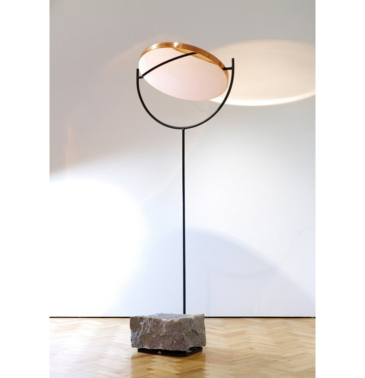 HUNTING & NARUD The Copper Mirror Series, Tall, 2013 Copper, steel, granite 208 H x 73 W x 40 D cms