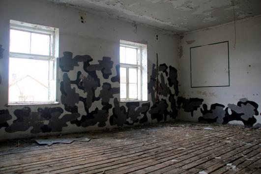 The Jajce Barracks Interior Now. Photo by Ka Wing Chang.
