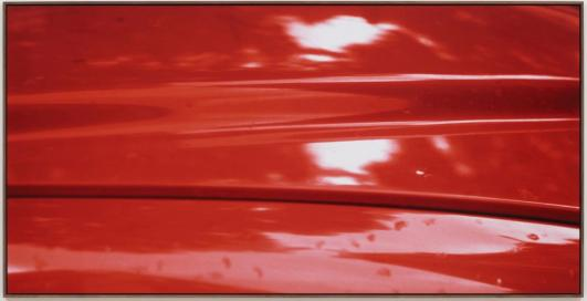 Red, 1976/2012 by Jan Dibbets. Courtesy the artist and Alan Cristea Gallery