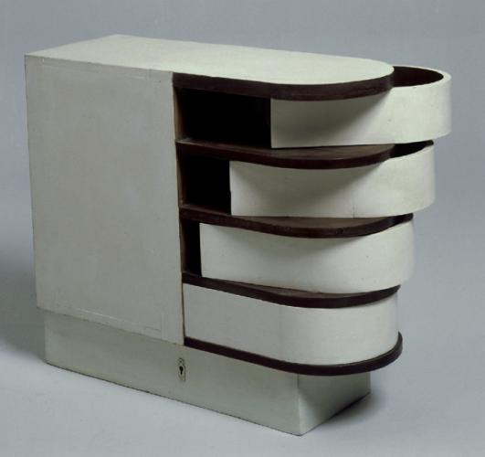Cabinet with swivel drawers, 1926-1929 by Eileen Gray