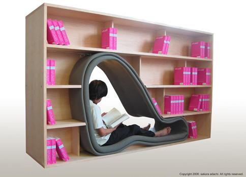 'Cave' Bookcase