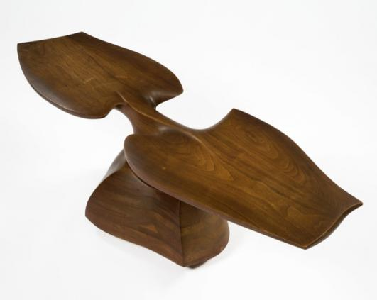 R 20th Century_Unique Sculptural Table by Wendell Castle in 1966