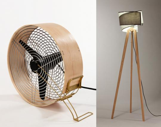 Fan and Lamp by Daniel Glazman [photos by Oded Antman]