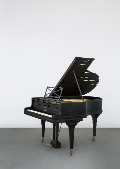 SMOKE PLEYEL PIANO 2013 by Maarten Baas