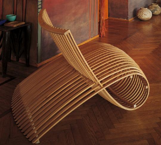 wooden chair detnk