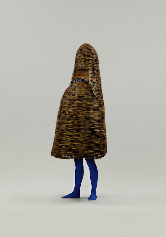 Willow Hut Creature by Femke  Agema; photo © Roel Determeijer;  art direction: Bas Koopmans