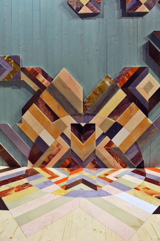 Floor & Wall Inlay - Earthquake 5.9 collection by Patricia Urquiola