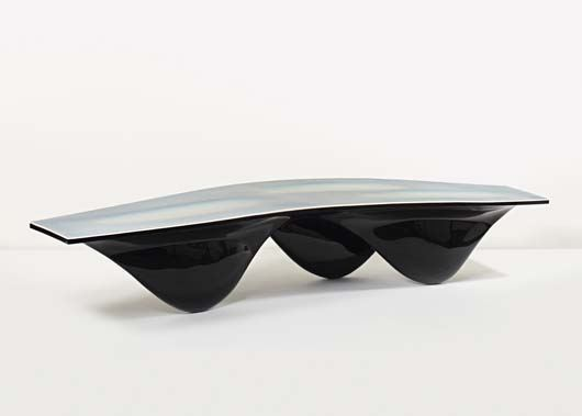 Zaha Hadid, 'Black Aqua Table' 2006, Estimated at $90,000-110,000, Sold for $110,500