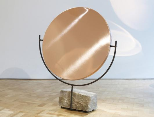 HUNTING & NARUD The Copper Mirror Series, Short, 2013 Copper, steel, granite 122 H x 99 W x 40 D cms Series of 8 plus 8 Artist's Proofs