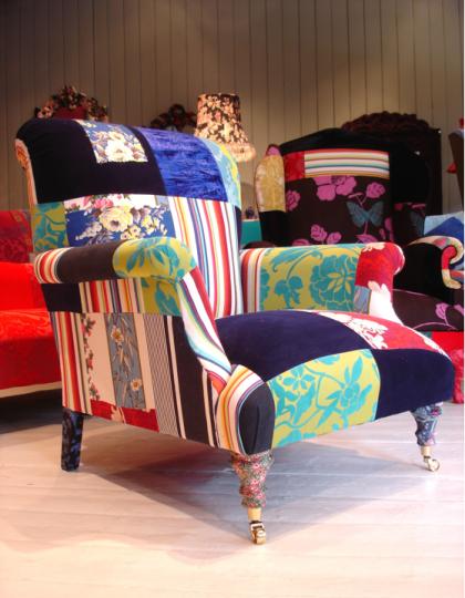 'Bloomsbury Club Chair' by Lisa Whatmough @ Squint London