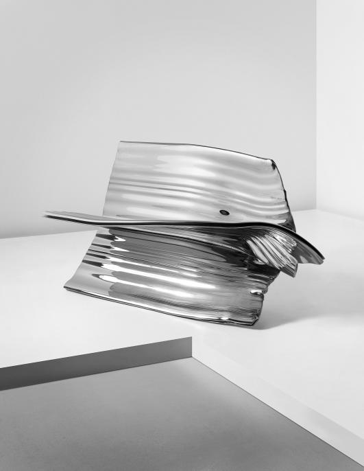 "THOMAS HEATHERWICK ""Extrusion"" bench, 2012 Estimate $60,000 - 80,000"