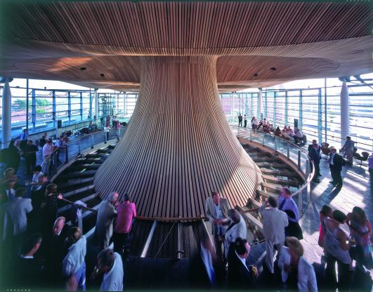 National Assembly for Wales by Richard Rogers