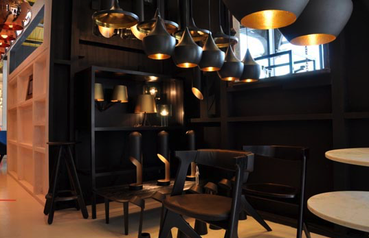Tom Dixon Showroom at the Dock - Photo by Nina Morris