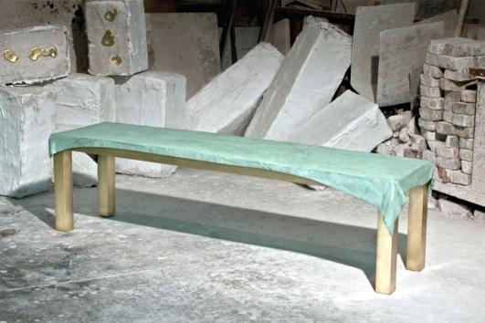 Dressed Bench by studio Jens Praet