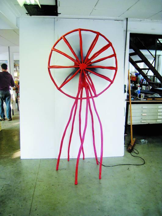 Maarten Baas  Clay Fan, 2006 © Studio Maarten Baas