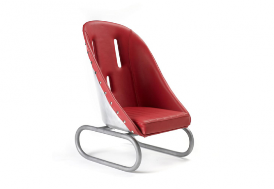 Bill Amberg's Racing Car chair for The Conran Shop